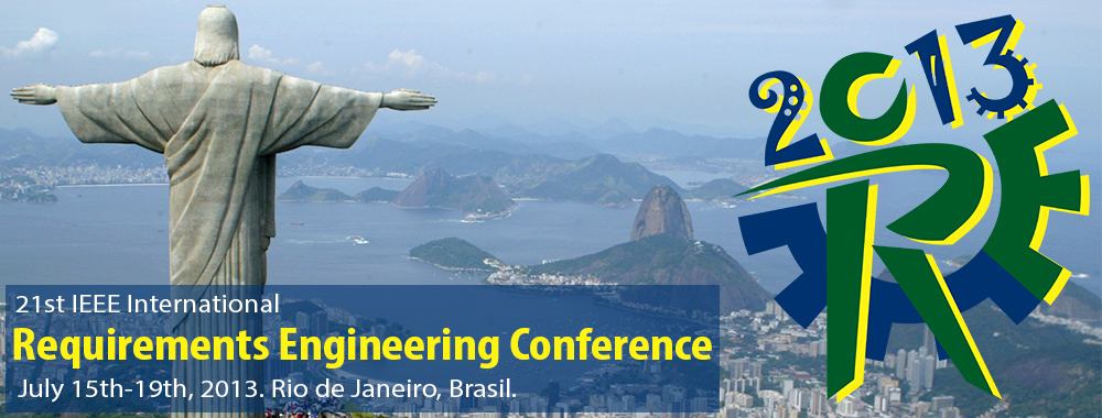 RE2013 | 21st IEEE International Requirements Engineering Conference